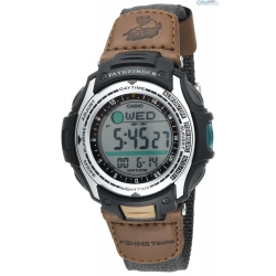 Casio Pathfinder Forester Moon Phase Vibrating Alarm Fishing Watch