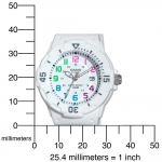 Casio LRW200H-7BV Women's White Resin Band 100M Sports Analog Watch NEW